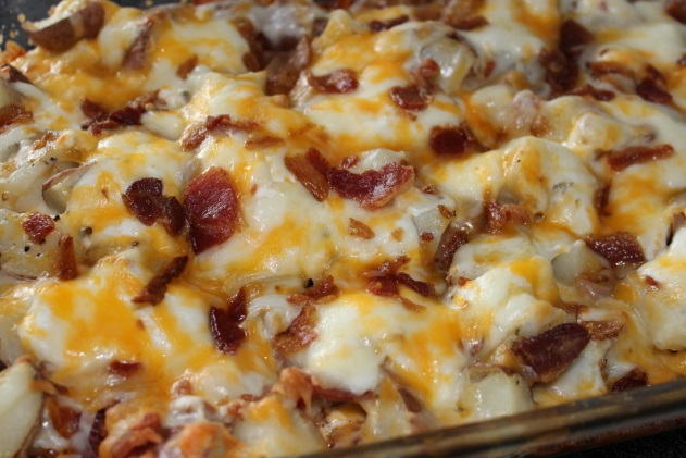 twice baked potato casserole twice baked potato casserole baked potato ...