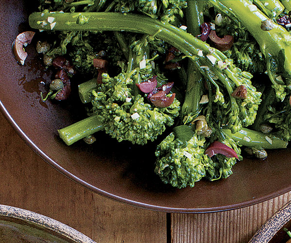 brocolli and olive nut sauce