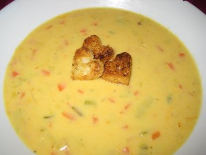 Velvet Cheese Soup